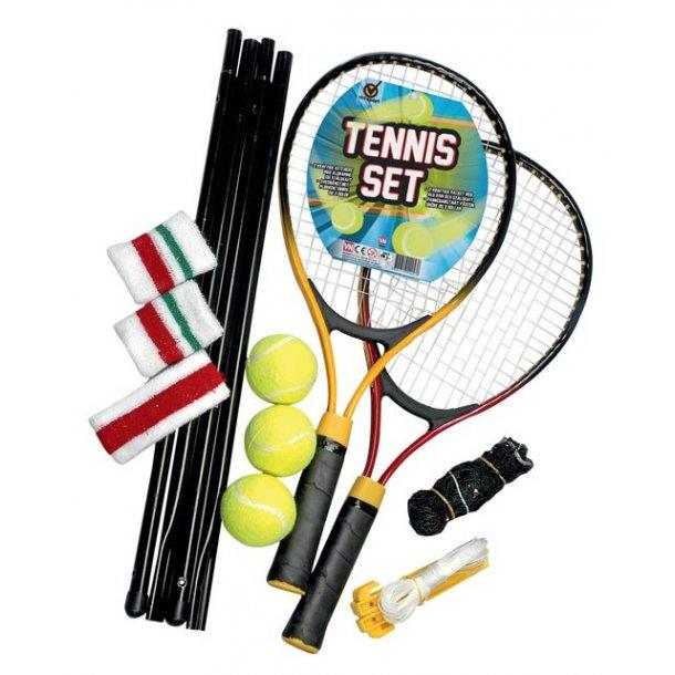 Tennis set komplet med net.