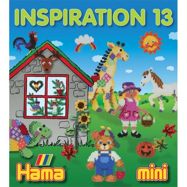 Hama perler - inspirations hæfte nr. 13