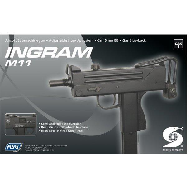 Ingram M11 Gas blow back