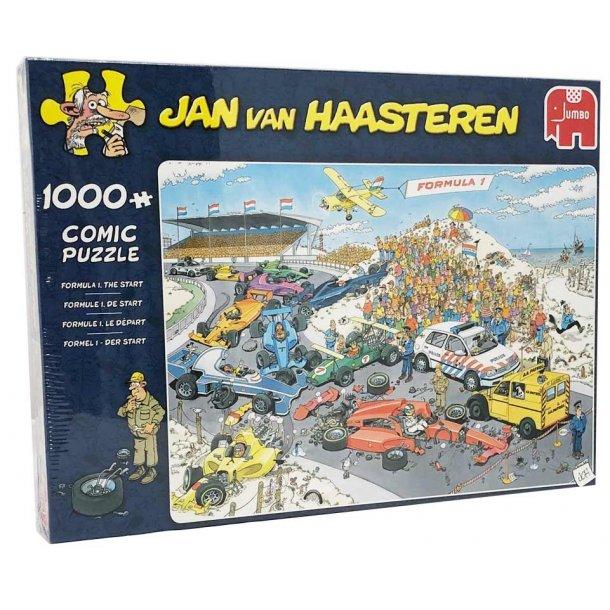 Jan van haasteren puslespil 1000 brikker - Formel 1