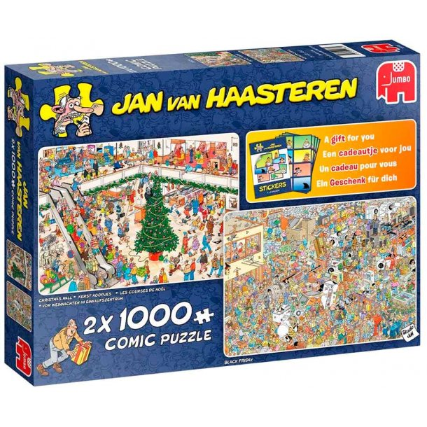 Jan van haasteren 2 x 1000 brikker - Holiday