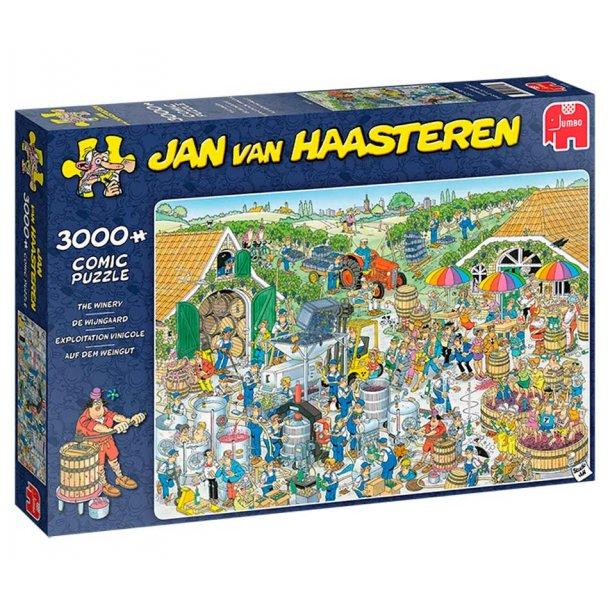 Jan van haasteren 3000 brikker - Vin gården