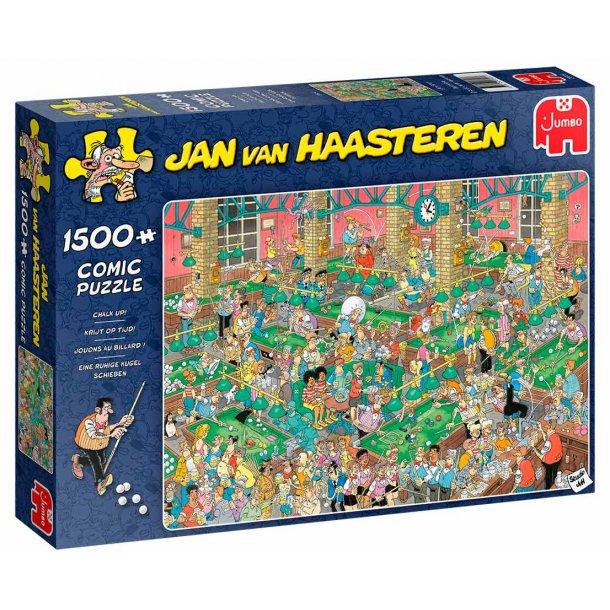 Jan van haasteren puslespil 1500 brikker - Billiard
