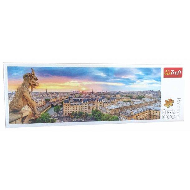 Panorama puslespil 1000 brikker - Paris