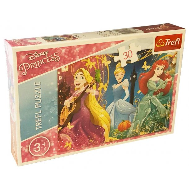 Trefl børnepuslespil - Enchanted Melody Princess - 30 brikker