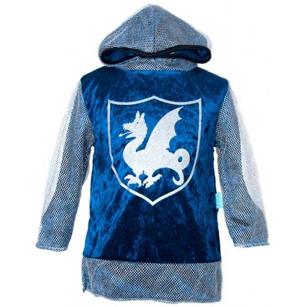 Riddertrøje str. 3 - 4 år i blå