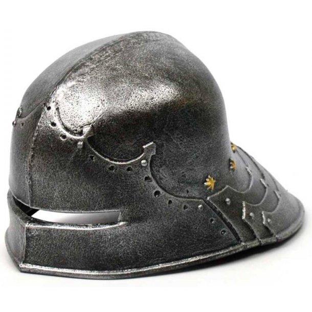 middelalder ridderhjelm