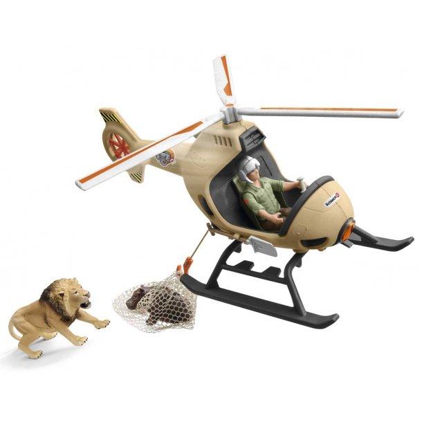 Helikopter til dyreredning