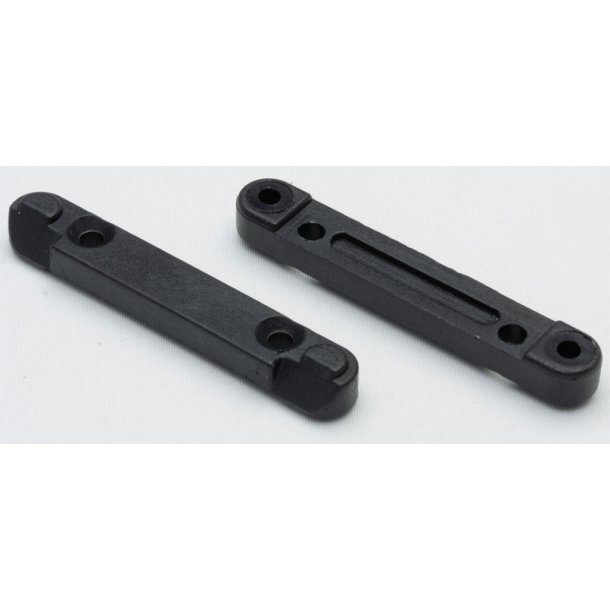 Front / rear lower suspension holder 2 stk til maXam 1:16