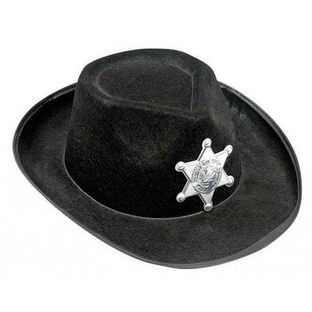Cowboyhat i filt.